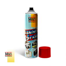 - Man Cleaning Spray