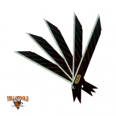 Yellotools - BlackBlades 9mm  30° (10er Pack)