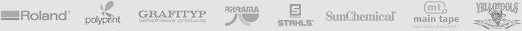 Brand logos header